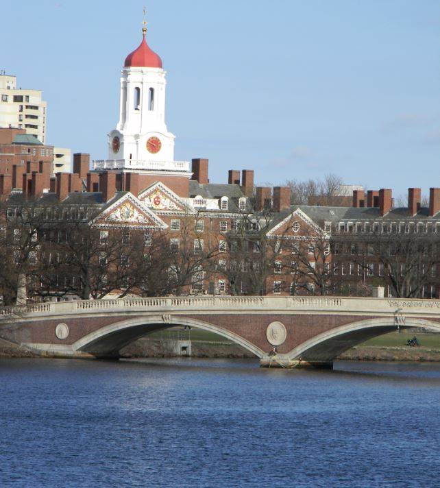 harvard university campus charles river hbs business school