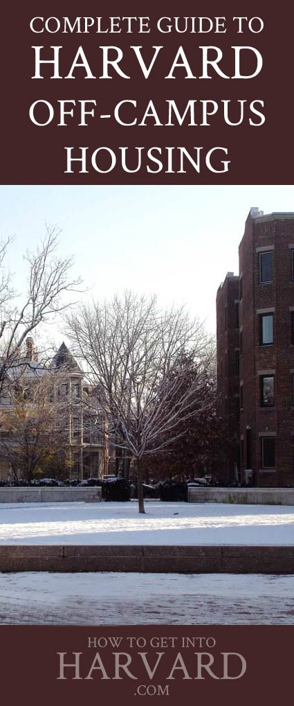 harvard-off-campus-housing tips where to live dorms